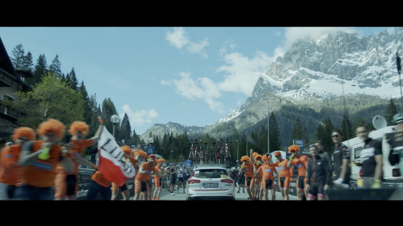 A Day of Giro d'Italia - documentary promo video